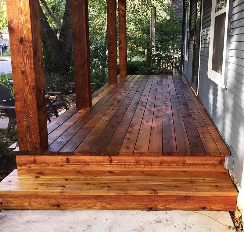 Porch Decking